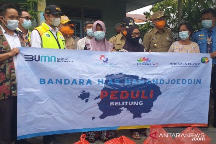 AP II Belitung salurkan bantuan untuk korban banjir