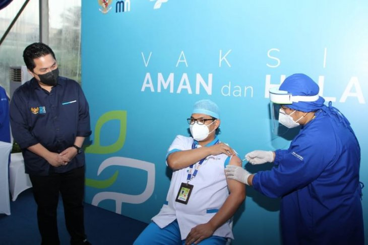 Kementerian BUMN  dan Pertamedika IHC komitmen sukseskan vaksinasi