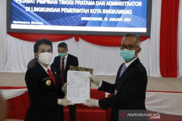 Tjhai Chui Mie serahkan DPA kepada OPD