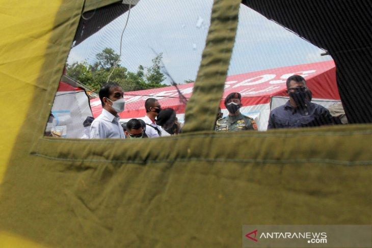 Presiden saksikan pemberian santunan untuk korban Sriwijaya Sj-182