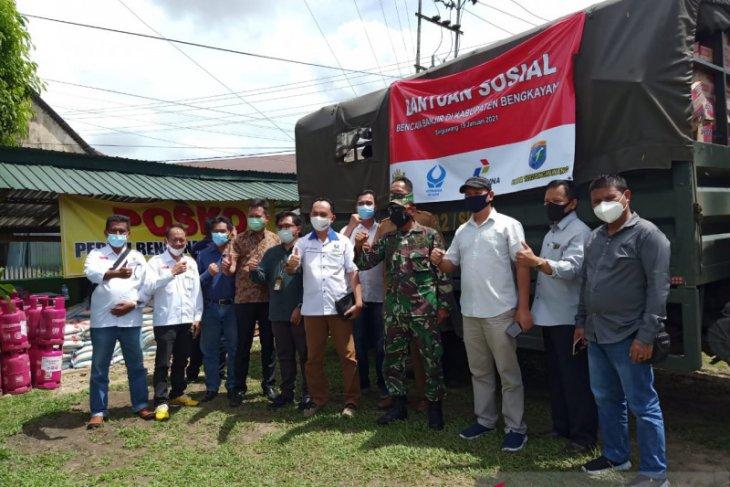 Bantuan untuk bencana banjir di Bengkayang terus mengalir