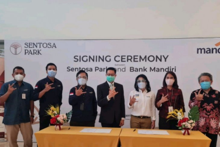 Sentosa Park jalin kerja sama KPR dengan Bank Mandiri