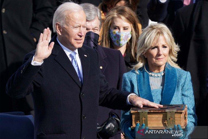 Joe Biden dilantik jadi Presiden AS