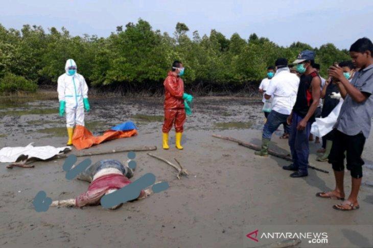 Mayat warga Malaysia ditemukan di Pantai Bengkalis