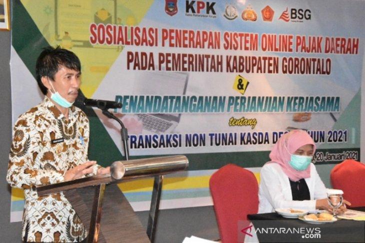 Pemkab Gorontalo dan BSG kerja sama pengelolaan pajak daring