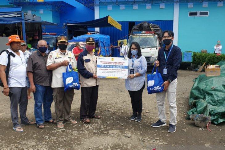 Taspen bantu ratusan paket sembako untuk korban banjir di kalsel
