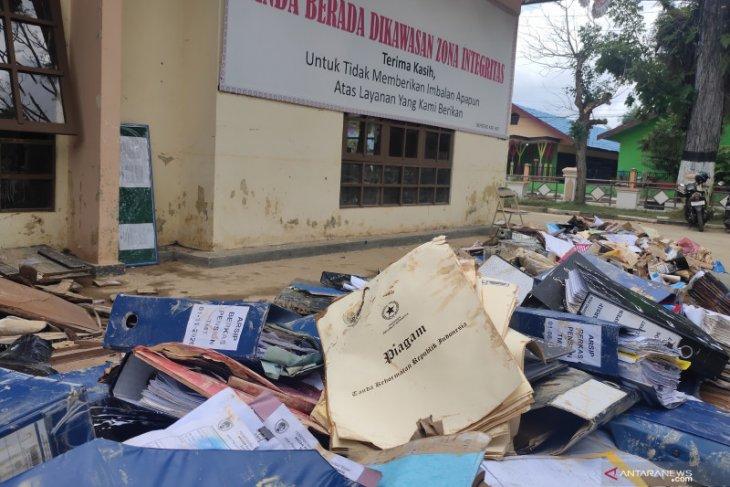 Banjir HST: 4 ribu berkas pensiunan dan kenaikan pangkat ASN turut terendam
