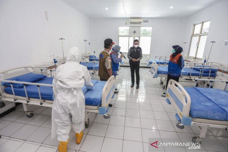 Baru diresmikan RS Lapangan Kota Bogor sempat terima dua pasien COVID-19