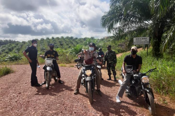 Patroli gabungan di perbatasan Indonesia