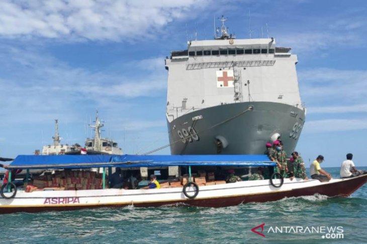 Prajurit TNI AL disebar ke pulau-pegunungan  Sulbar, ini yang dilakukannya