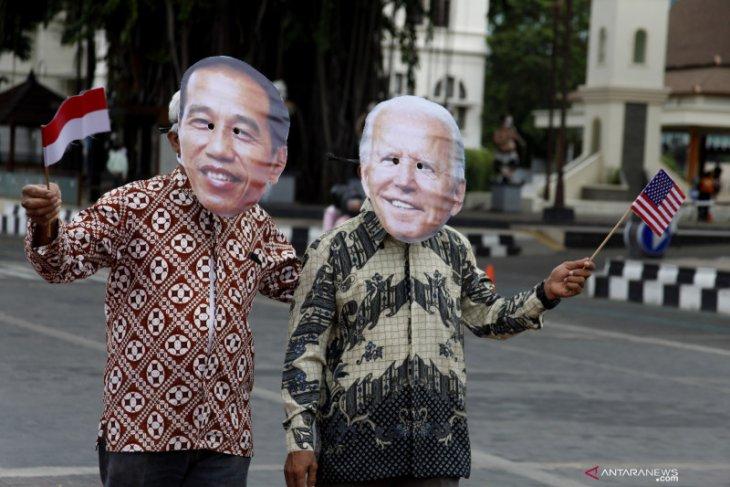 Presiden Jokowi ucapkan selamat pelantikan Presiden AS Joe Biden