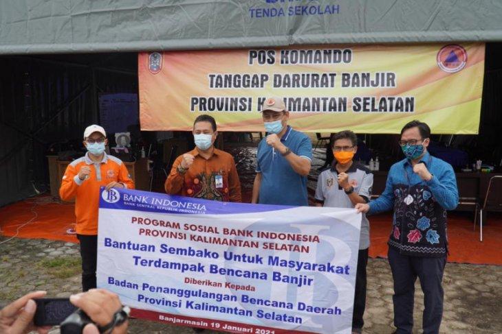Bank Indonesia salurkan bantuan senilai Rp241 juta