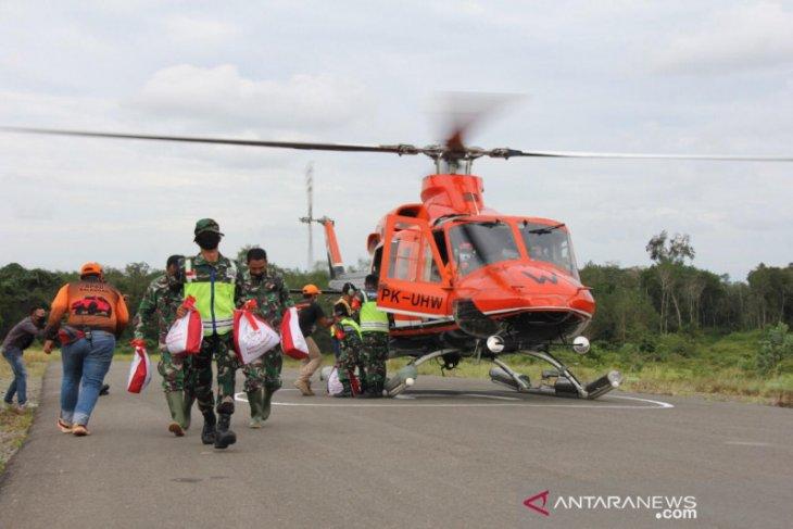 Presiden Joko Widodo salurkan seribu paket bantuan di Balangan