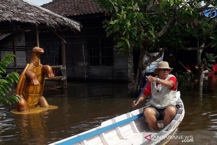 Objek Wisata Sungai Biuku rusak lantaran banjir