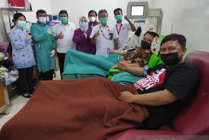 PMI Tangerang penuhi standar produksi plasma darah konvalesen