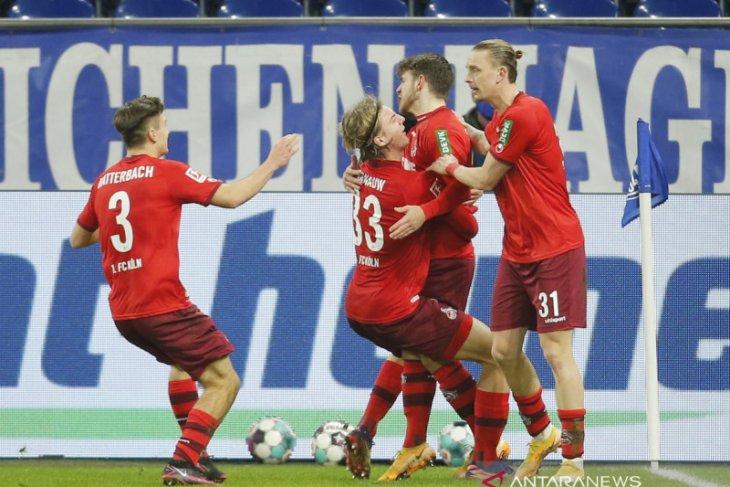 Cologne kembali ke jalur kemenangan,  pukul Schalke 2-1