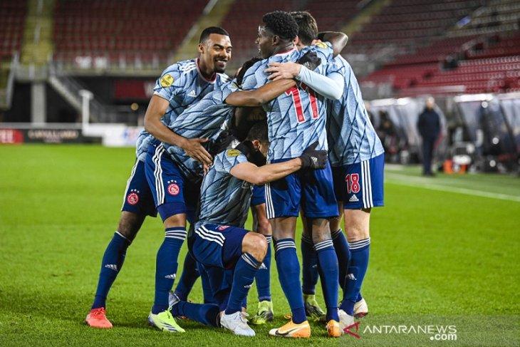 Liga Belanda: Ajax kembali perlebar jarak di puncak klasemen