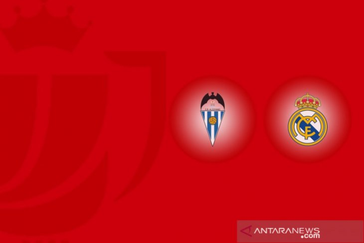 Real Madrid disingkirkan tim strata ketiga di Copa del Rey