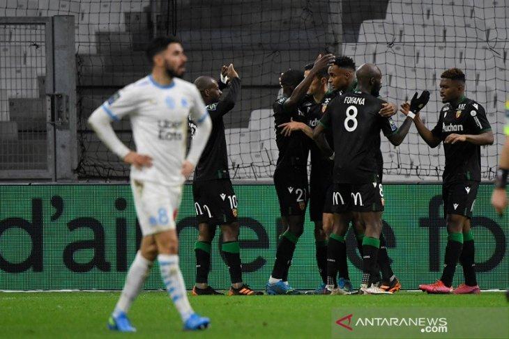 Menang 1-0, Lens curi tiga poin penuh dari markas Marseille