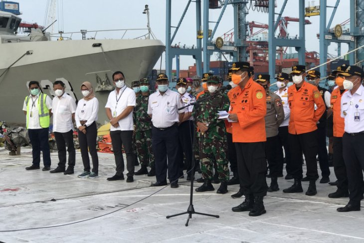 Basarnas resmi  hentikan pencarian korban Sriwijaya Air SJ 182