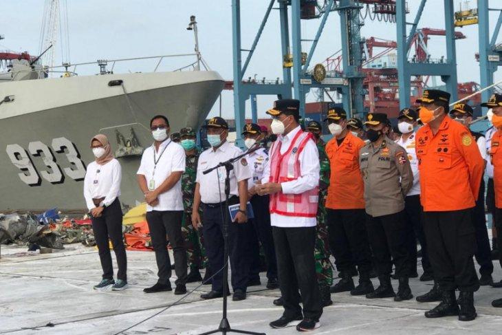 Operasi pencarian pesawat Sriwijaya Air SJ 182 dihentikan