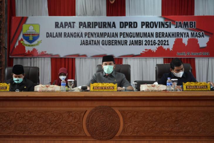 DPRD gelar paripurna pengumuman berakhirnya masa jabatan gubernur