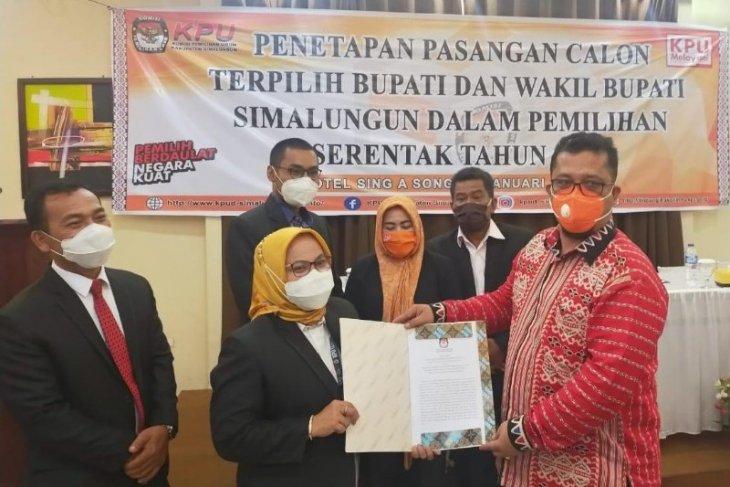 KPU butuh waktu 11 jam penetapan paslon Kepala Daerah Simalungun terpilih