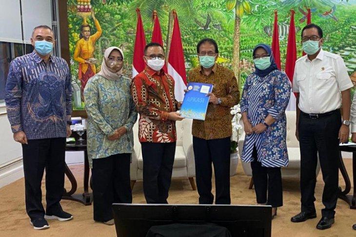Temui Menteri ATR/BPN, Apkasi beri masukan RPP Penyelenggaraan Penataan Ruang