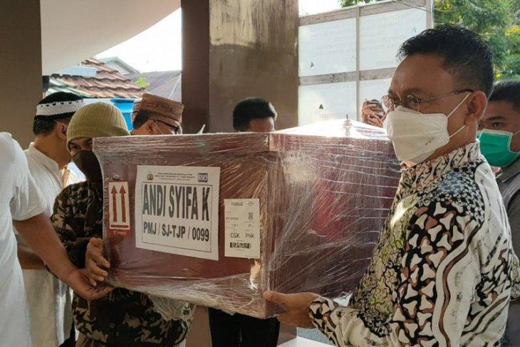 Edi Rusdi Kamtono ikut shalatkan jenazah penumpang Sriwijaya Air