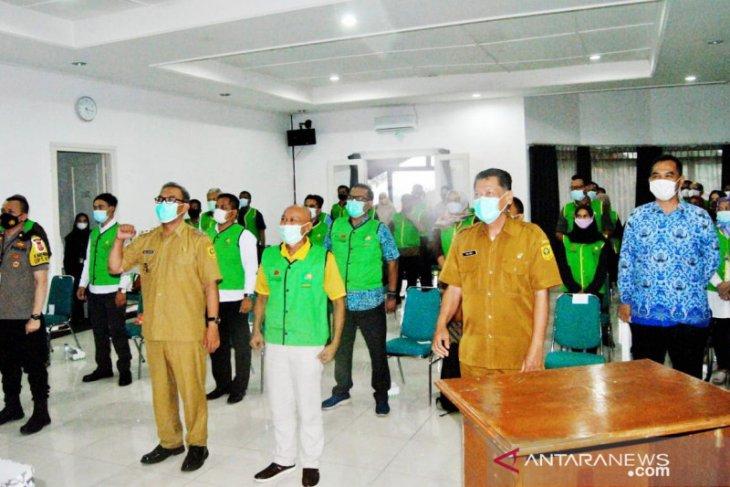 BPPD Bogor siapkan 120 relawan penegak protokol kesehatan di tempat wisata