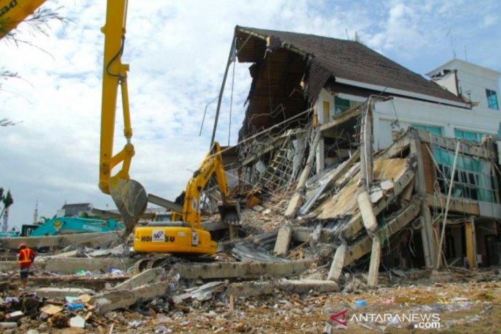 Kerugian negara akibat gempa Mamuju dan Majene Rp494,28 miliar