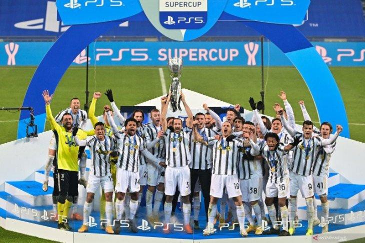 Juventus juara Piala Super Italia setelah kalahkan Napoli 2-0