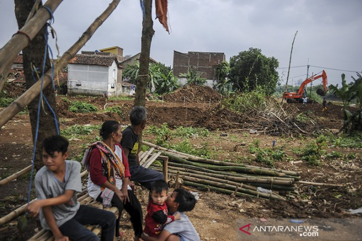 Proyek pengendali banjir di Kabupaten Bandung