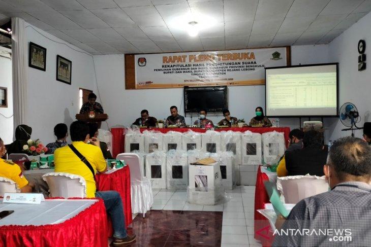 KPU Rejang Lebong segera tetapkan calon bupati-wabup terpilih