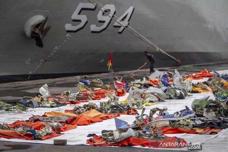 RS Polri terima 325 kantong jenazah korban Sriwijaya hingga pencarian dihentikan