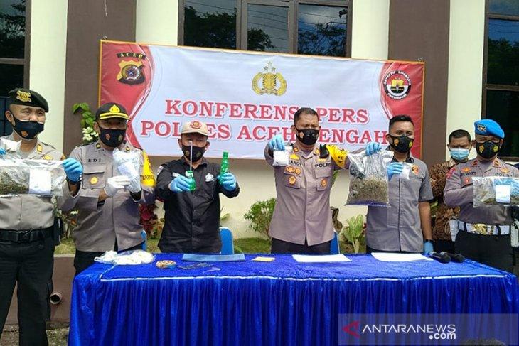Ayah dan anak terlibat komplotan pengedar narkoba di Aceh Tengah