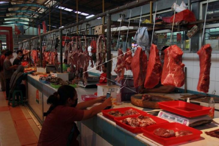 Disperindag Kota Tangerang  gandeng Bulog gelar OP daging sapi