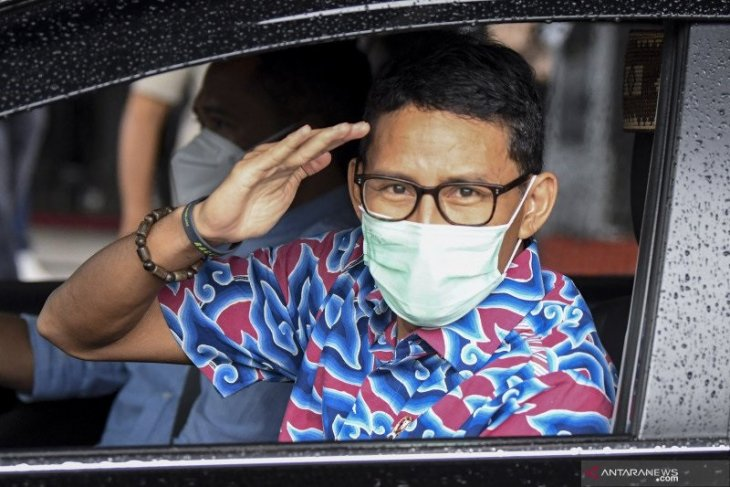 Menteri Pariwisata Sandiaga Uno akan berkantor di Bali