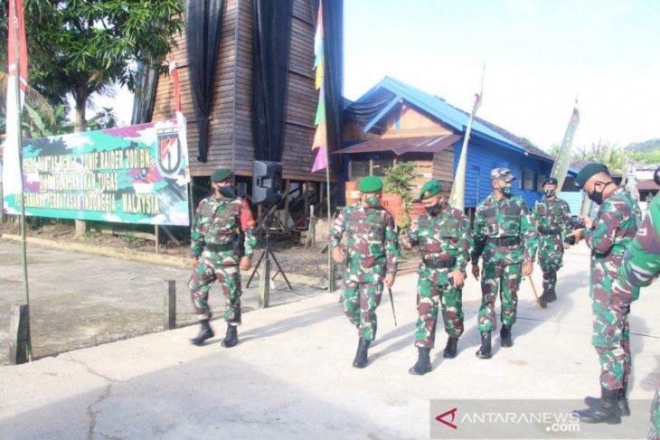 Jaga Perbatasan Prajurit Harus Ingat Prosedur Penanganan COVID-19
