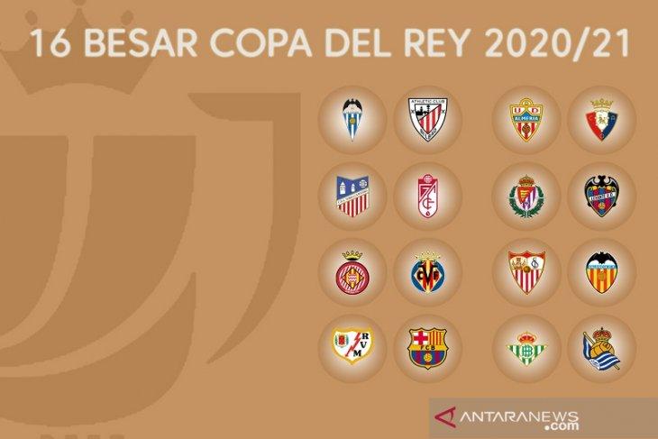 Barcelona dapat keuntungan  dalam undian 16 besar Copa del Rey