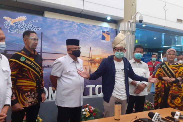 Menparekraf : Protokol kesehatan Bandara Batam baik