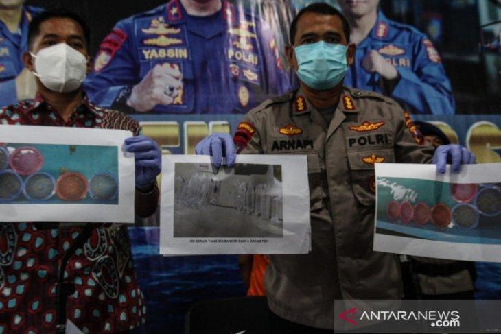 Polda Jatim gagalkan penjualan 3.149 benih lobster ilegal