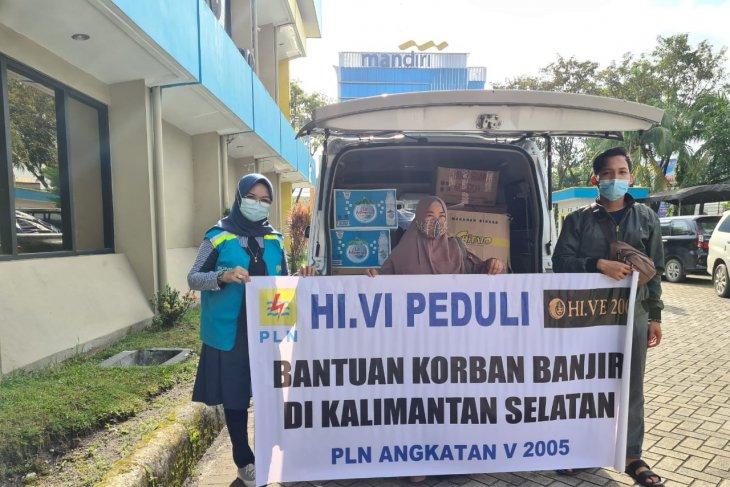 Pln bantu korban banjir melalui dapur umum forhati Banjarbaru