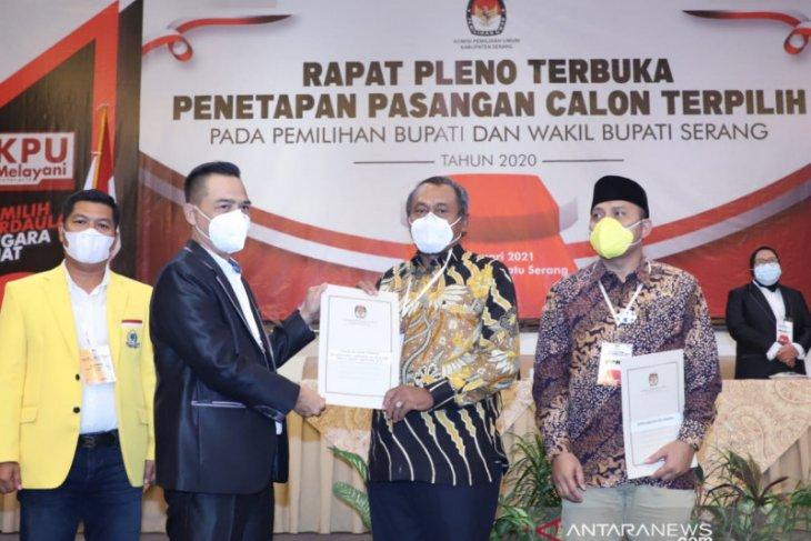 Tatu-Pandji pemimpin Kabupaten Serang terpilih, pilkada rawan terbantahkan
