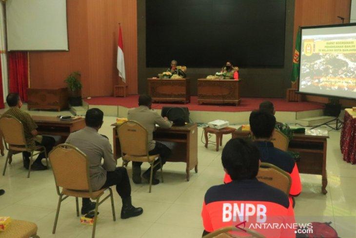 Pemkot Banjarbaru dapat arahan BNPB terkait penanganan banjir