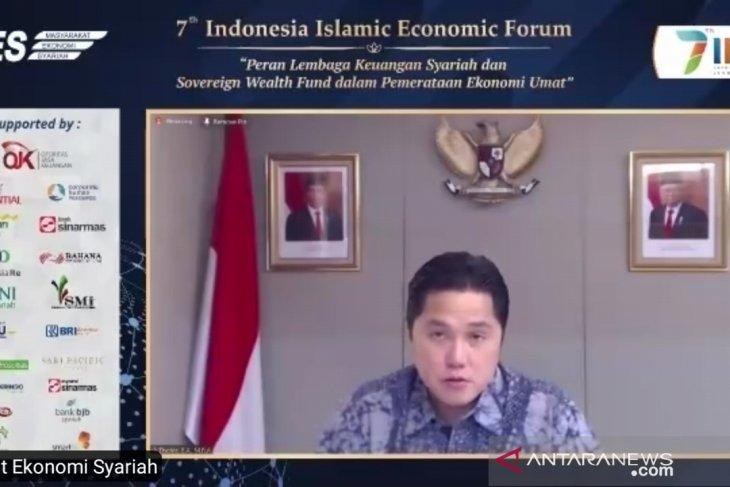 Menteri Erick: Ekonomi syariah harus jadi opsi prioritas dukung pertumbuhan