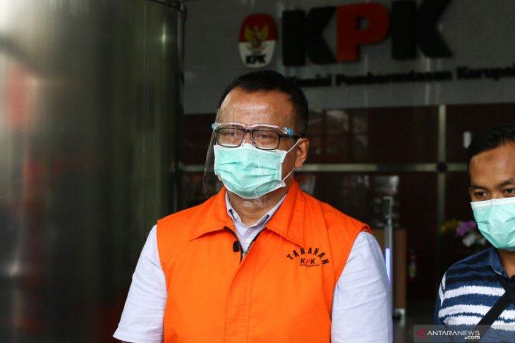 KPK perpanjang masa penahanan Edhy Prabowo
