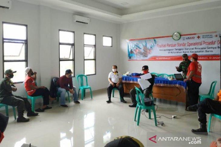 PMI Sukabumi finalisasi SOP penanganan dan kesiapsiagaan gempa bumi
