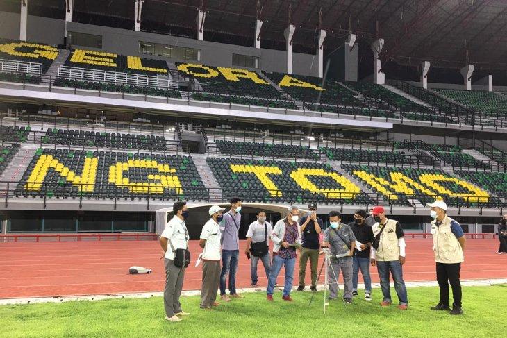Tenaga ahli pastikan pencahayaan Stadion GBT di atas standar