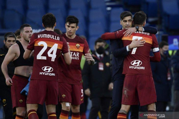 Liga Italia: AS Roma susah payah tekuk Spezia 4-3